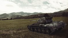 Обои world of tanks, танки, wargaming.net, т-44, танк, холмы, Wot, поле